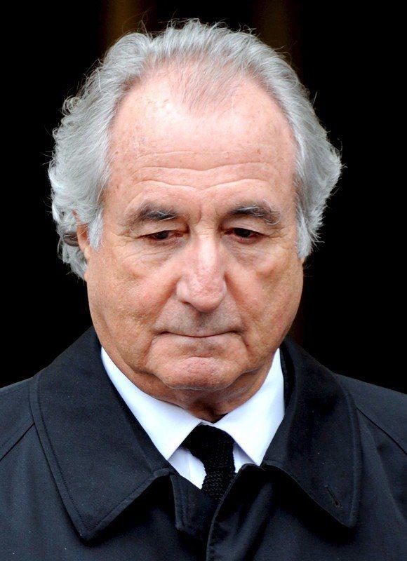金融家馬多夫(Bernie Madoff),14日在聯邦監獄中去世。 歐新社資料照