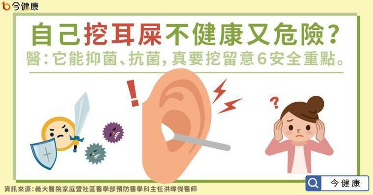 挖耳屎不健康又危險?醫:它能抑菌、抗菌,真要挖留意6重點。