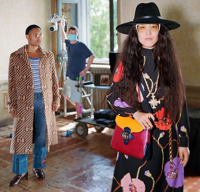 Gucci脫離傳統時裝周行程後推出的「終曲Epilogue」系列。圖/Gucci...