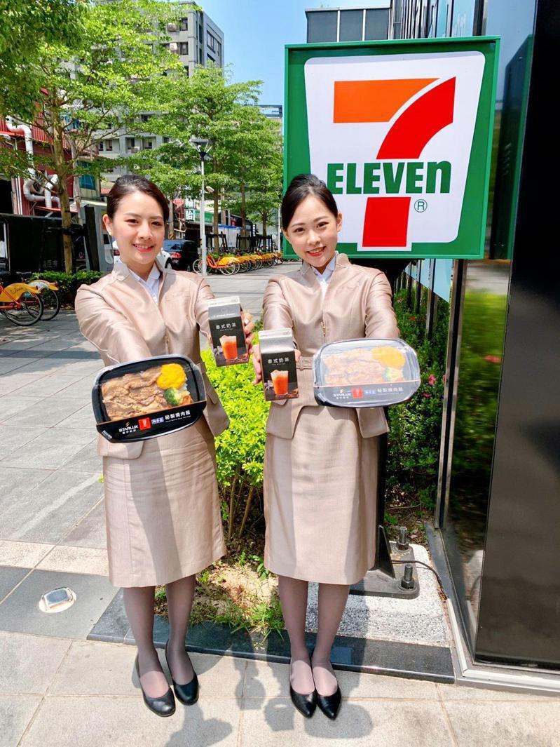 7-ELEVEN為國內便利商店首創以飛機餐概念打造可微波加熱鮮食。(照片提供:7-ELEVEN)