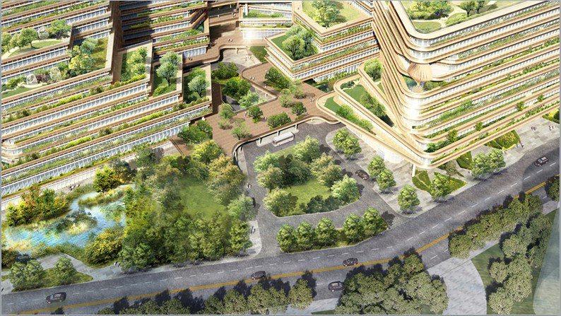 竹科X產業園區計畫第一軟體大樓預計今年底前動工,2024年完工,為1棟地下1層、...