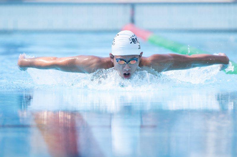 王星皓積極備戰東京奧運。記者季相儒/攝影