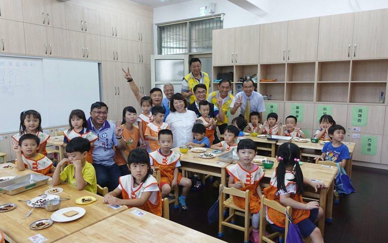 嘉義市民族附幼增設1班小班、育人附幼增加1班幼幼班。圖/嘉義市政府提供