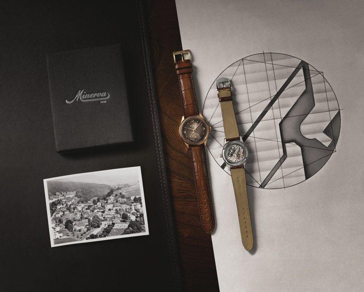 萬寶龍Pythagore小秒盤腕表的機芯設計暗藏黃金比例,也是向畢達哥拉斯(Py...