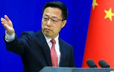 大陸外交部發言人趙立堅。圖/取自大陸外交部