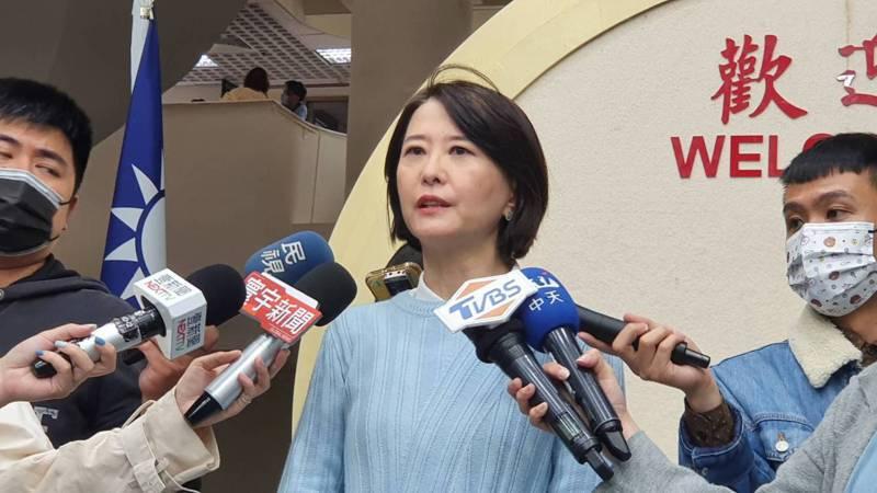 北市垃圾車廣播換成副市長黃珊珊,議員王鴻薇質疑是為了選舉,濫用市政資源炒聲勢。記者楊正海/攝影