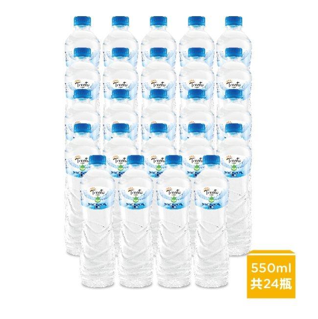 屈臣氏獨家的「Treats by Watsons純水」550ml X 24瓶(箱...