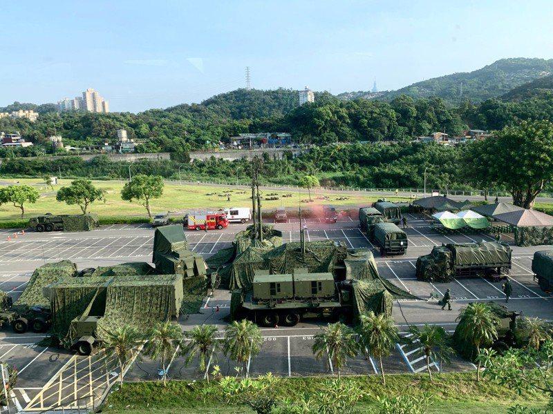 駐北台愛國者飛彈車組。圖為示意,非報導中雷達車組。記者洪哲政/攝影