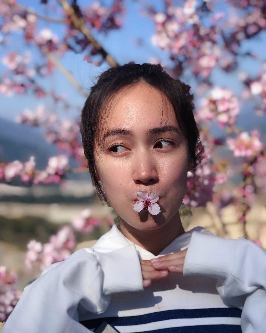 小薰過去還有「石門之花」封號。圗/摘自臉書