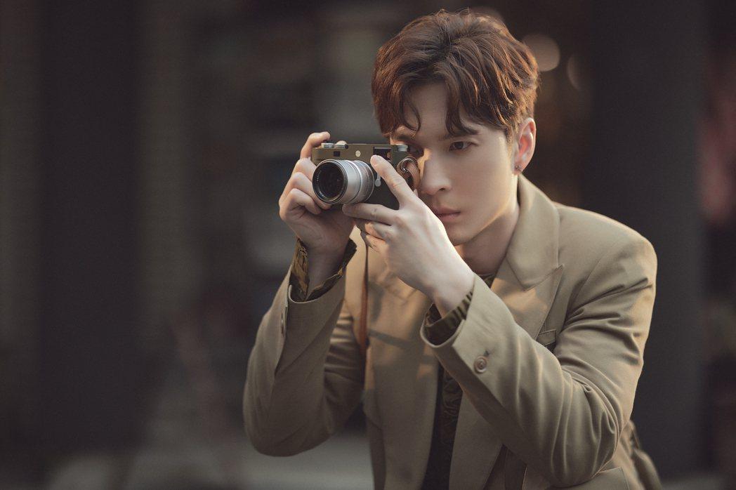 陳勢安成為徠卡相機的品牌之友。圖/索尼提供