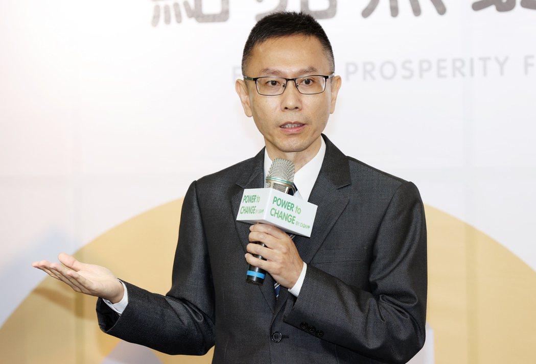 京城銀行理財服務部副總經理尤其偉。記者杜建重/攝影