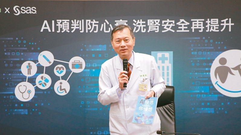 台北榮總院長許惠恒出書公開醫院管理心法。圖/台北榮總提供