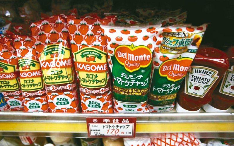 日本番茄醬巨人可果美公司已停止從中國大陸新疆省進口番茄。(路透)