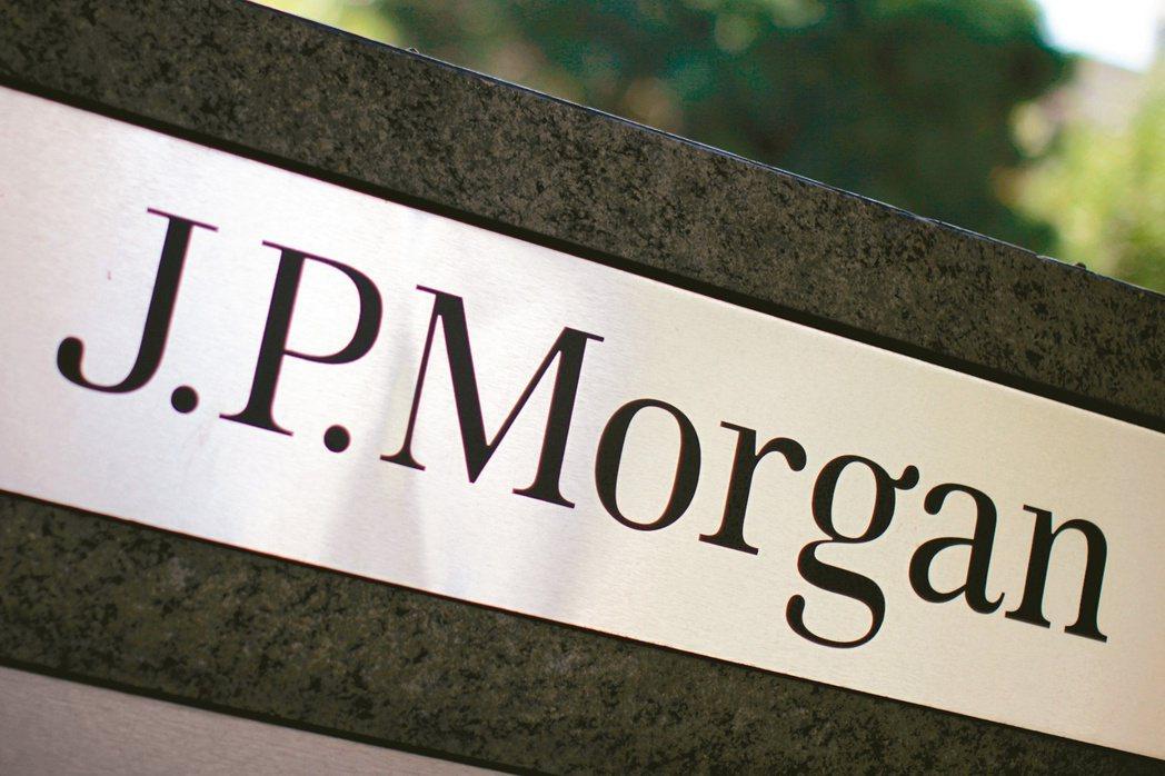 摩根大通上季獲利飆增近四倍,優於預期。(路透)