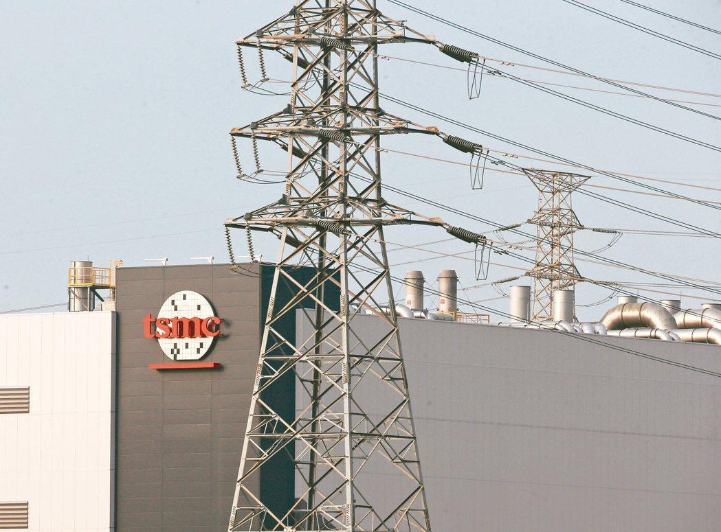這次壓降事故影響台南園區台積電等廠商,目前除台積電14B廠P7以緊急發電機因應廠...