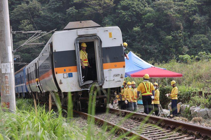 4月2日上午在台鐵花蓮大清水隧道段東正線發生的台鐵太魯閣號408次列車出軌意外,其傷亡之慘重,為數十年來鐵路意外事故之最。 圖/聯合報系資料照