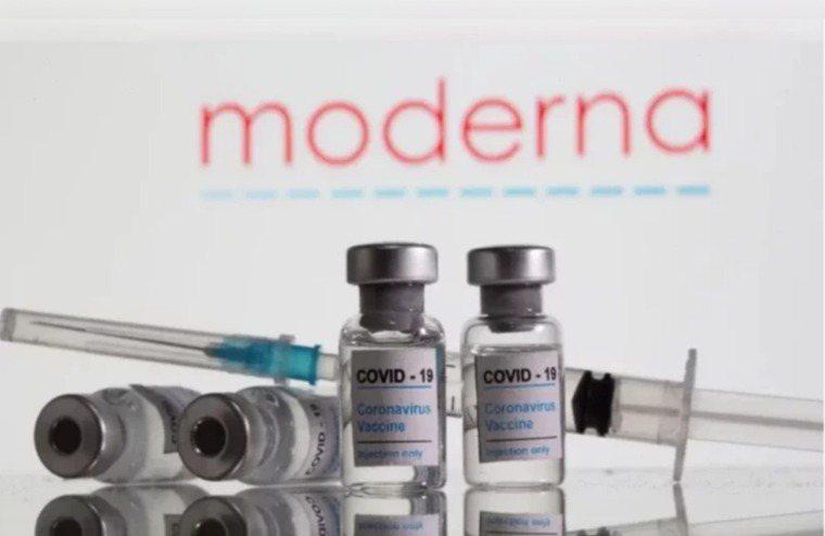圖為莫德納疫苗示意圖。路透