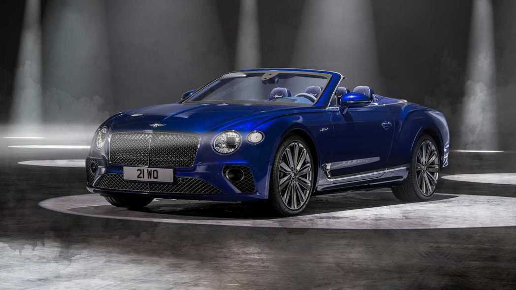 Bentley Continental GT Speed Convertible...