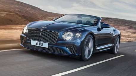 650匹奢華敞篷 Bentley Continental GT Speed Convertible優雅登場