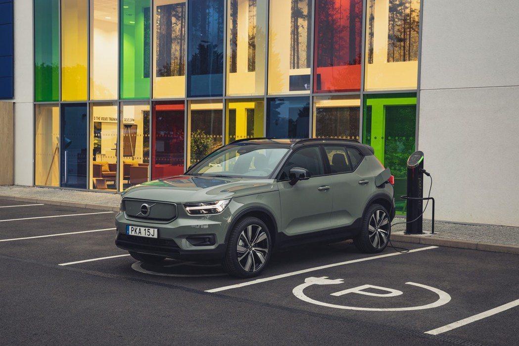 Volvo Recharge電動車系需求仍然強烈,Volvo三月份品牌電動車銷量...