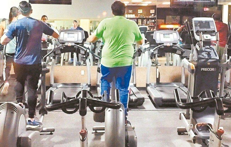 健身房示意圖。 圖/聯合報系資料照片