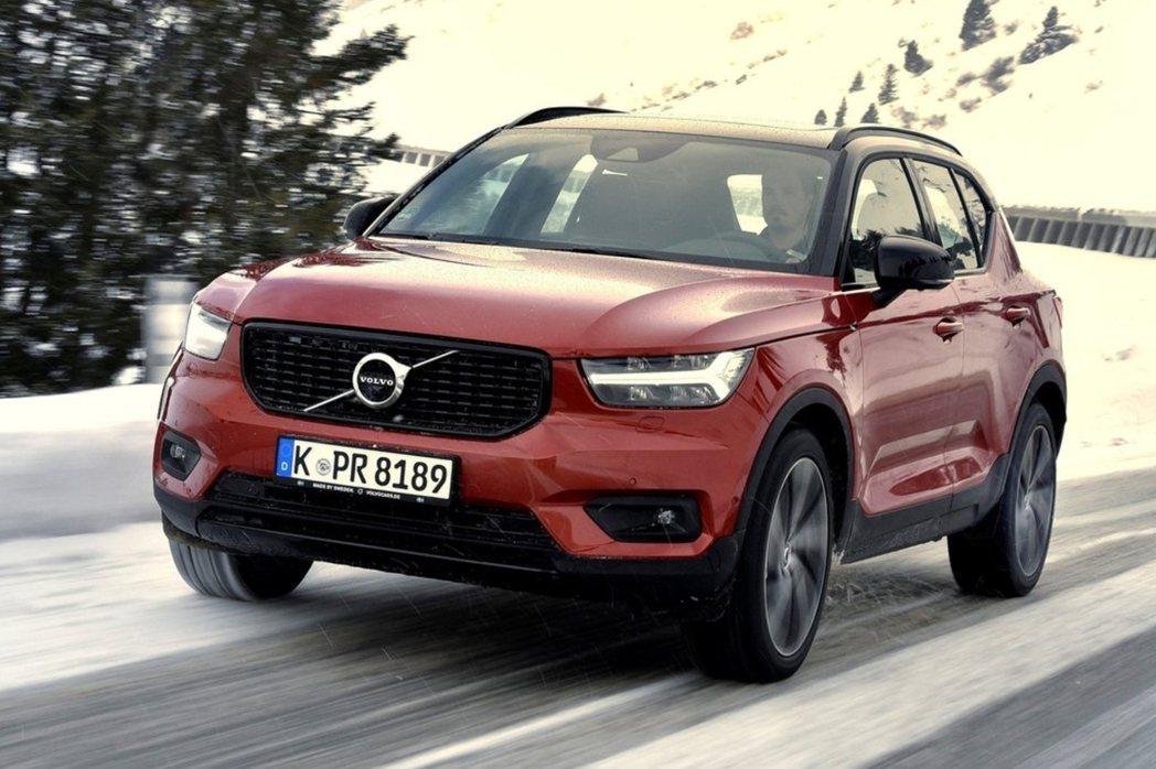 Volvo XC40是品牌今年第一季銷量最高的休旅。 摘自Volvo