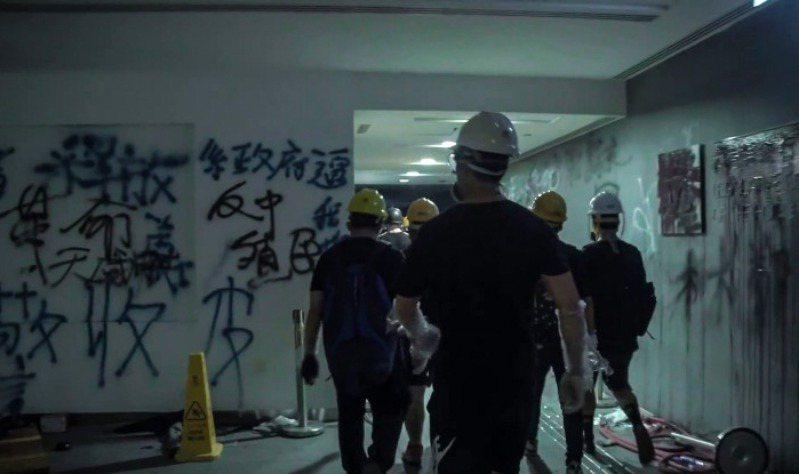 《佔領立法會》劇照。 圖/台灣國際紀錄片影展