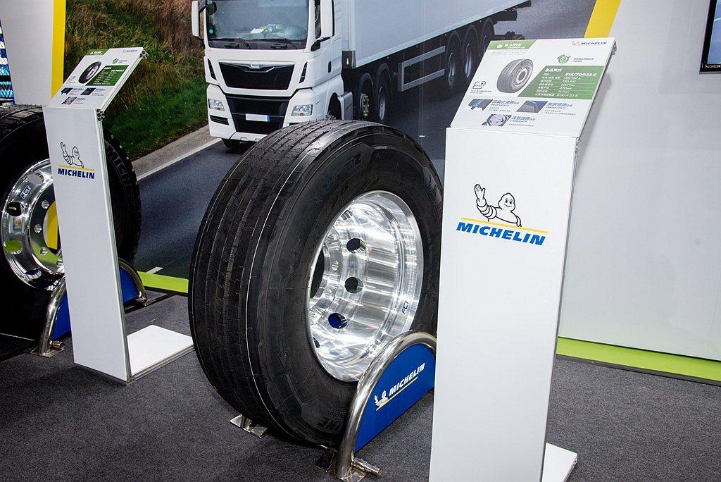 米其林X Line系列適合遠距離高速公路運輸,同時具備安全又省油的特性。 圖/台...