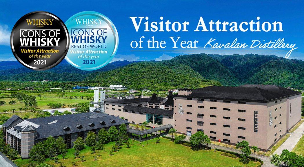 金車噶瑪蘭威士忌酒廠第三度榮獲《Whisky Magazine》所頒布的「最佳風...