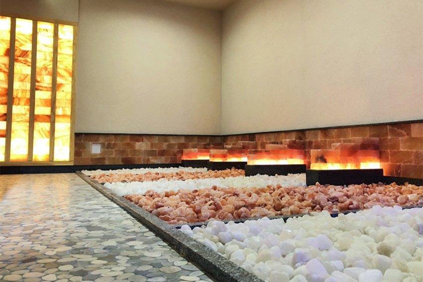 斥資上億打造日本火紅岩盤浴,全新休閒娛樂好去處。 大魯閣湳雅廣場/提供