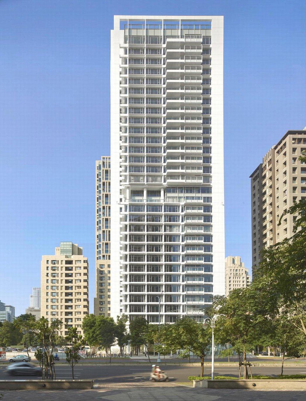 普立茲克建築獎得主、紐約白派建築大師Richard Meier 設計信義計畫區3...