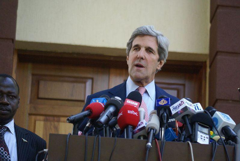 美國氣候特使、前國務卿凱瑞近日出訪中國,希望能促進美中在氣候變遷的合作。(Photo by John Kerry, US senator on Wikimedia under CC 2.0)