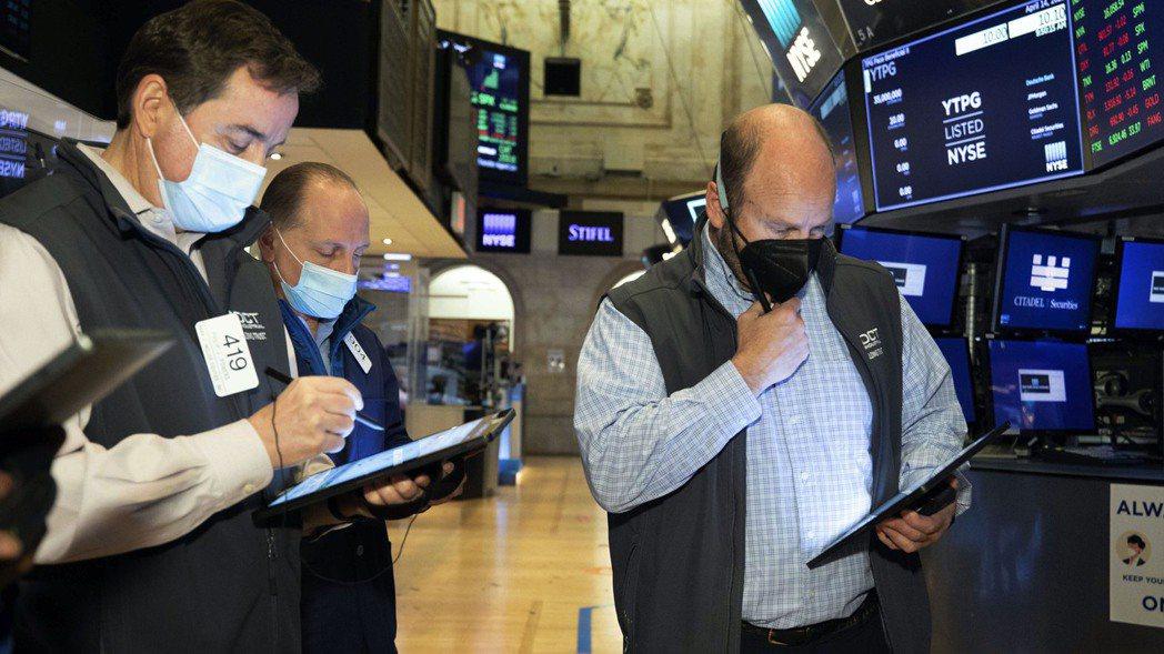 美股三大指數14日收盤漲跌互見。美聯社
