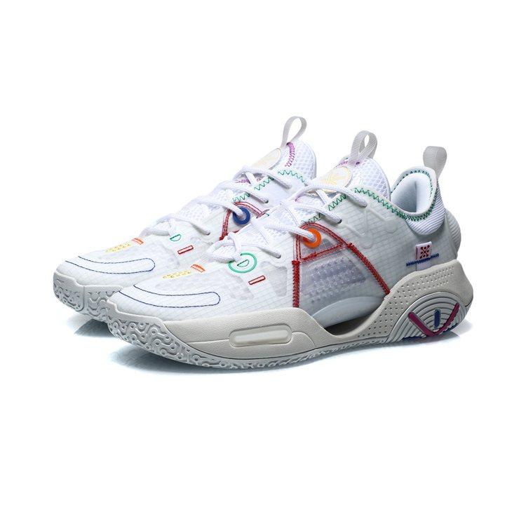 李寧韋德全城9 V1.5男子減震回彈籃球專業比賽鞋4,350元。圖/LI-NIN...