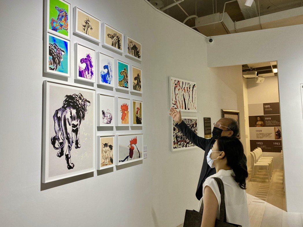位於台中七期新市政中心的私人美術館「晶美術館」。記者宋健生/攝影