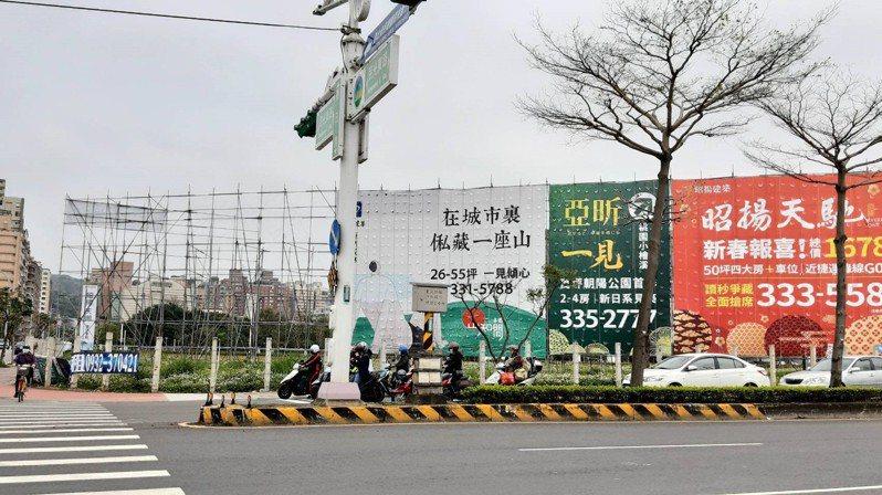 北市房價重返九字頭大關。記者游智文/攝影