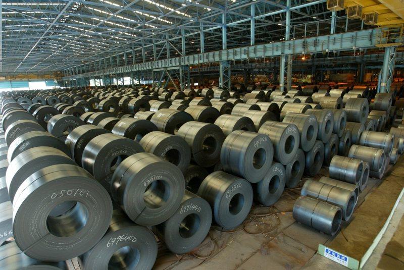 中鋼累計1至4月合併營收近1347.28億元,年增30.36%。圖/聯合報系資料照片