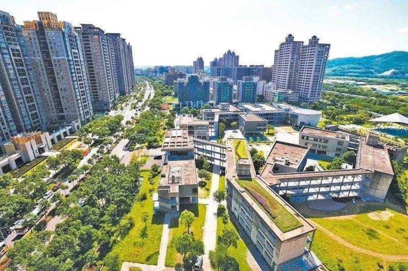 北大特區結構完整、綠地寬廣,居住機能佳。 圖/聯合報系資料照片