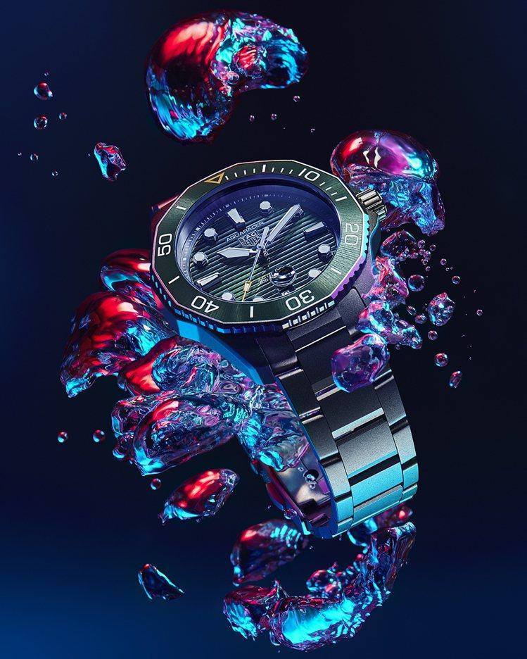 泰格豪雅全新的Aquaracer系列更名為「Aquaracer Professi...