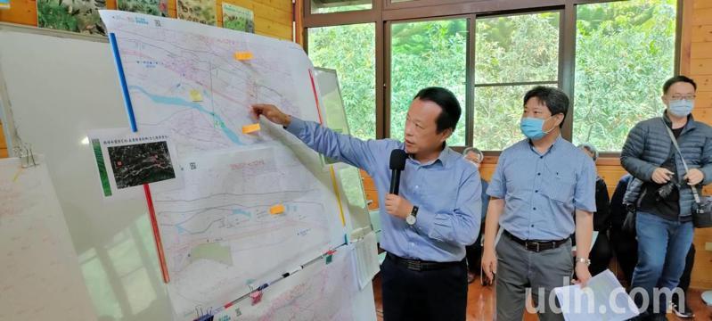 嘉義縣長翁章梁表示,農業改良總廠預定設在阿里山公路旁,日安社區附近。記者莊祖銘/攝影
