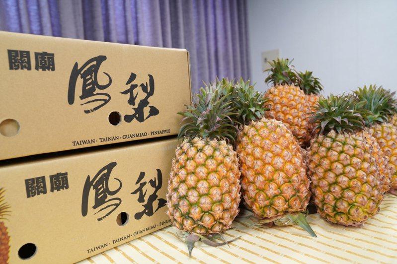 新竹市農會即日起也買得到來自台南關廟的金鑽鳳梨。圖/新竹市政府提供