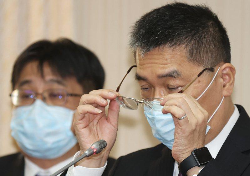 內政部長徐國勇今天表示,治安要看整體,高雄治安基本上不是最壞的,大家要對台灣有信心。記者陳正興/攝影