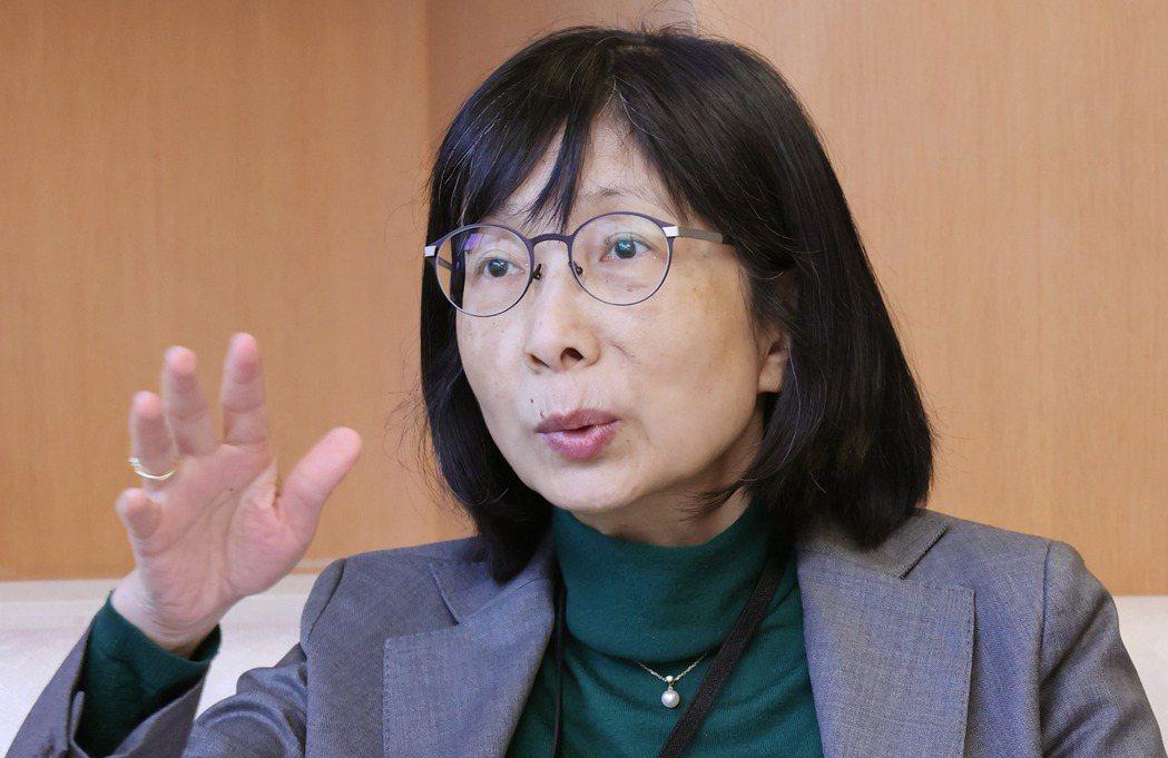 東元董事長邱純枝。記者曾學仁/攝影