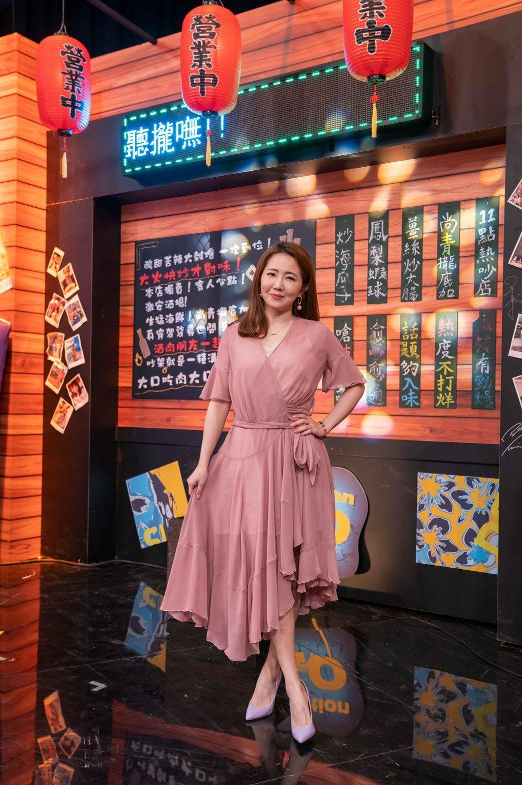 謝忻道出「綜藝大集合」長年的問題。圖/TVBS提供