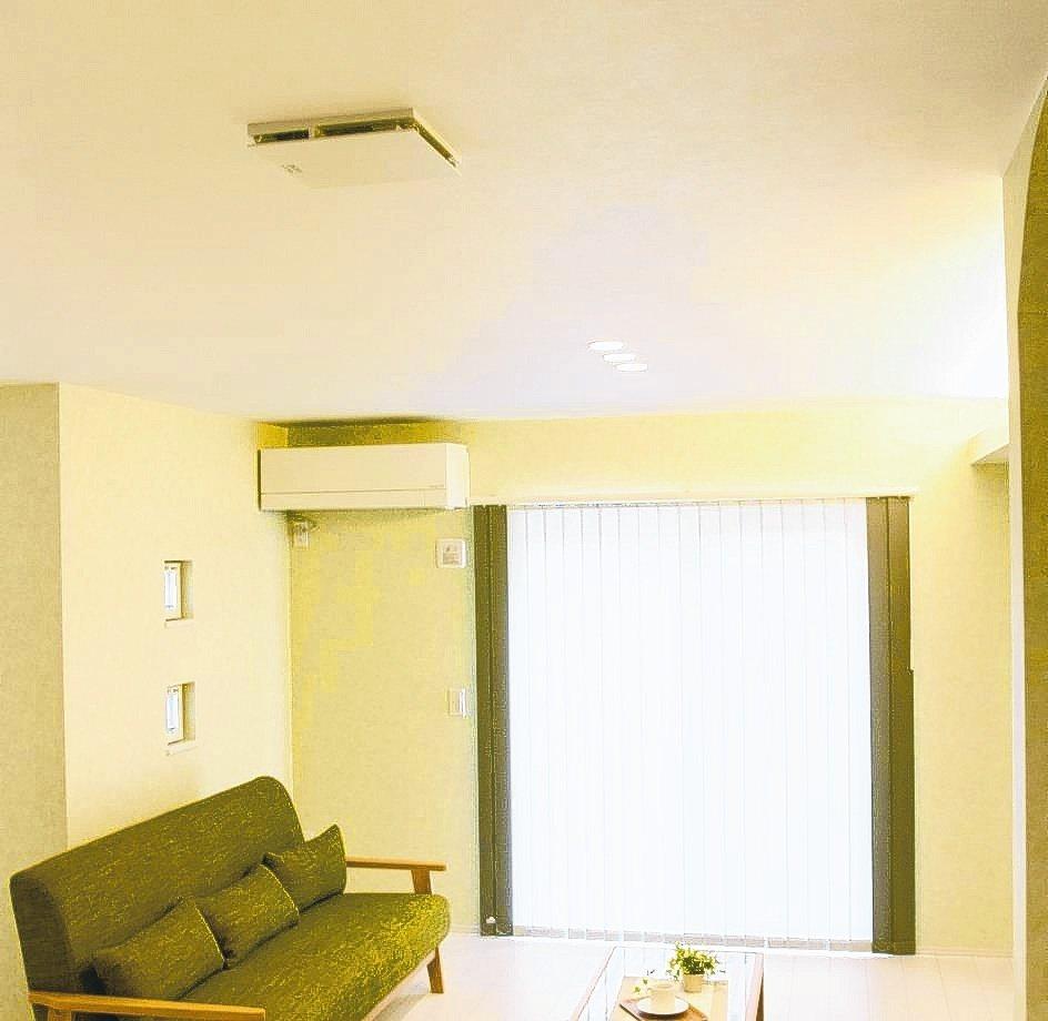 三菱電機日本原裝空清循環扇抑菌除臭,可安裝在天花板或嵌入牆壁,不占地面空間。 台...