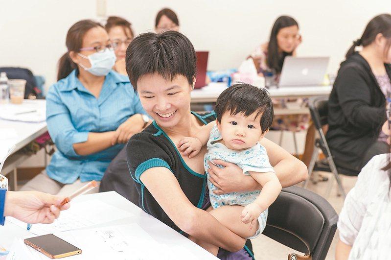 得人資源整合公司推廣友善職場,替媽媽們媒合能彈性工作的企業。圖/得人資源整合公司提供