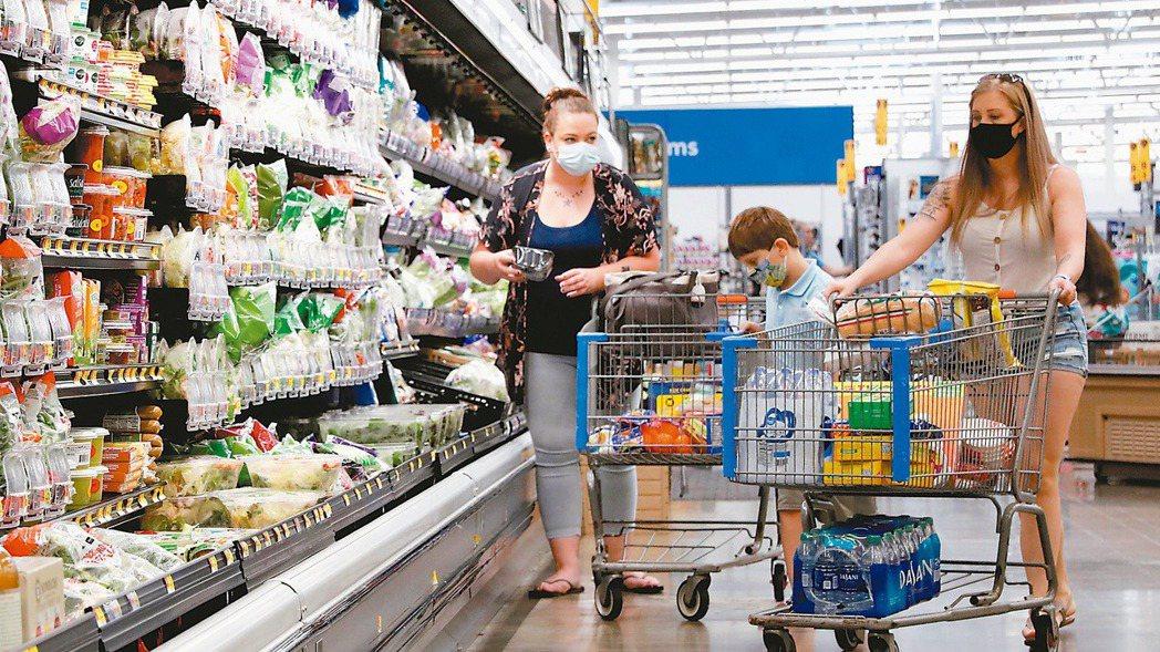 美國3月零售銷售出現爆發式反彈,成長率直逼二位數。(路透)