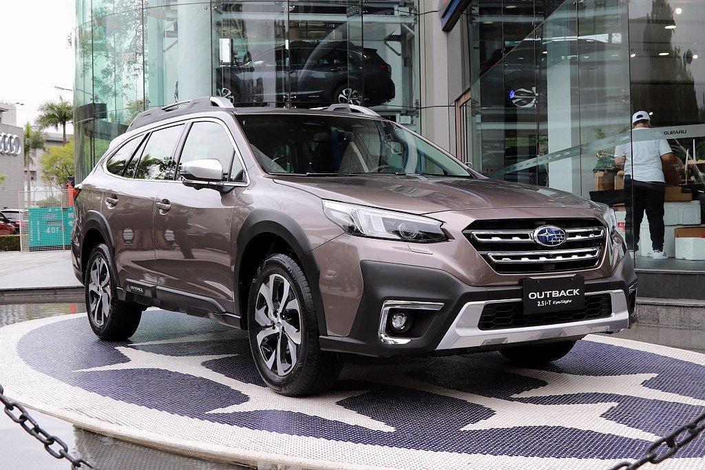 大改款全新Subaru Outback首度搭載「SGP全球模組化底盤」並導入符合...