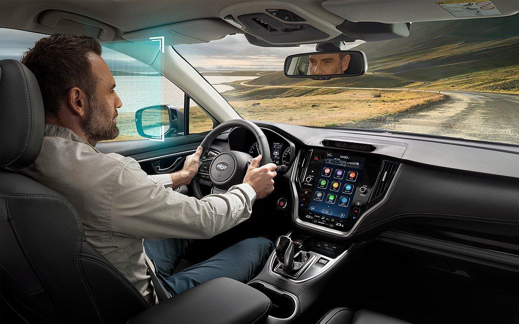 「Driver Monitoring System智能駕駛警示系統」,透過紅外線...