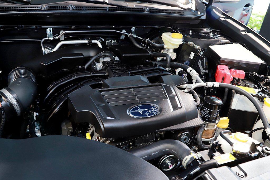 全新Subaru Outback搭載調教的BOXER 2.5升缸內直噴水平對臥自...